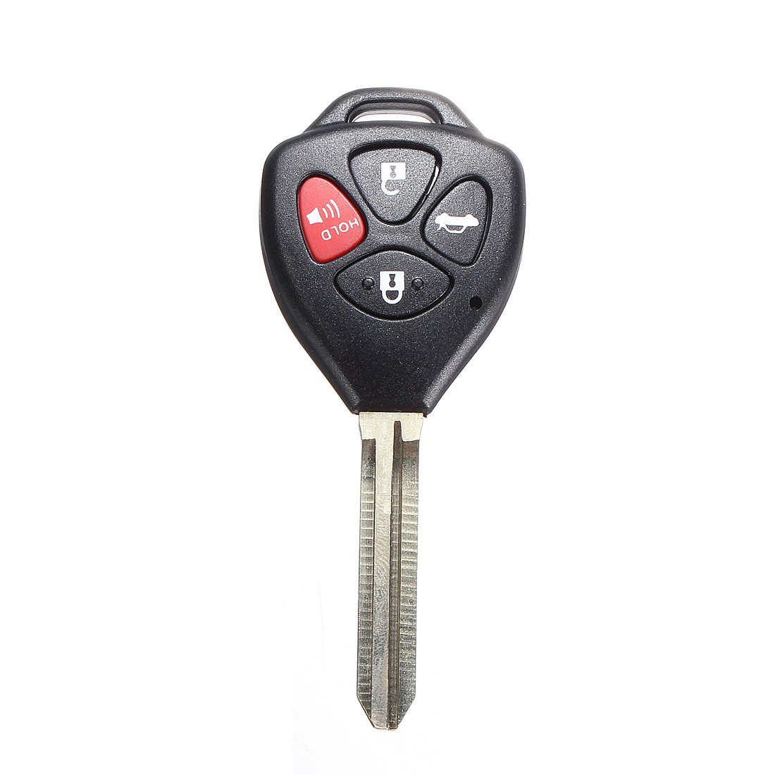 4 Button Remote Key Case Cover Shell Fob w/ Uncut Blade For TOYOTA Corolla 2008 2009 201 ...
