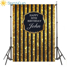 Sunsfun Happy Anniversary Yellow Background Children Photography Balloon Baby Birthday Backdrops Studio Personal Customization