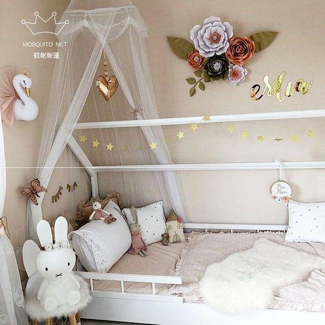 2018 Kamimi Baldachin Kinder Zelt Baby Bett Vorhang Kinder Moskitonetz  Kinder Gaze Krippe Netting Baby Schlafzimmer