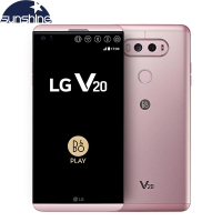 Original V20 H990N 4G LTE Mobile Phone 5 7 16 0MP 4G RAM 64G ROM Snapdragon