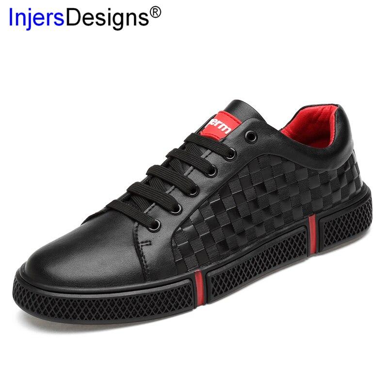 En Hommes Mocassins Doux Conseil Véritable white Cuir Haute Qualité Occasionnels Respirant 46 36 Black Grande Sneakers Chaussures Mode Taille Baskets n7AqY1wE
