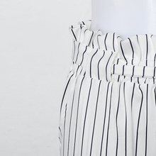 New Striped OL chiffon high waist harem pants women MT