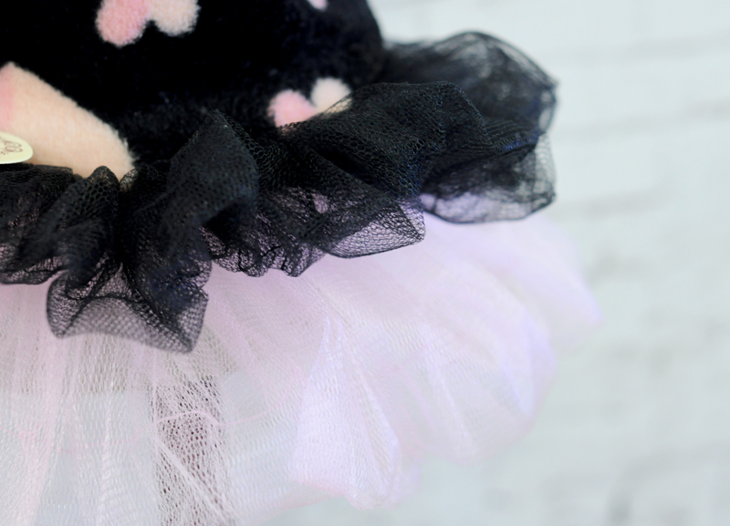 Hišni ljubljenček Coral žametna obleka Tutu Cat Puppy Princess - Izdelki za hišne ljubljenčke - Fotografija 6