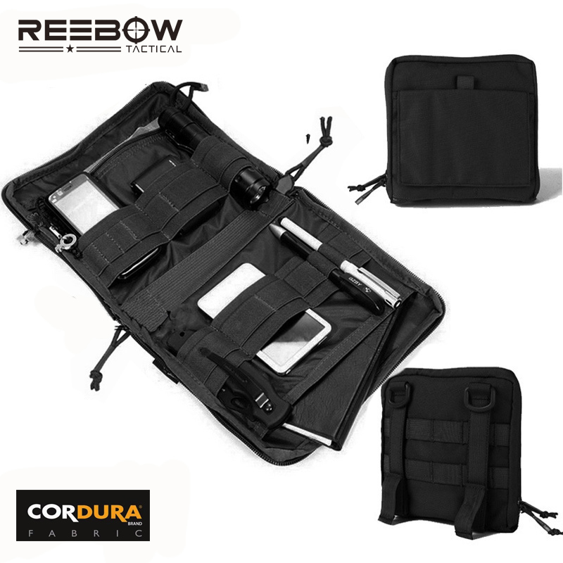 REEBOW GEAR Molle Spec Ops EDC Pouch Tactical Tool Organizer Outdoor Travel Hiking Camping Accessories Bag 1000D CORDURA Fabric Велюр