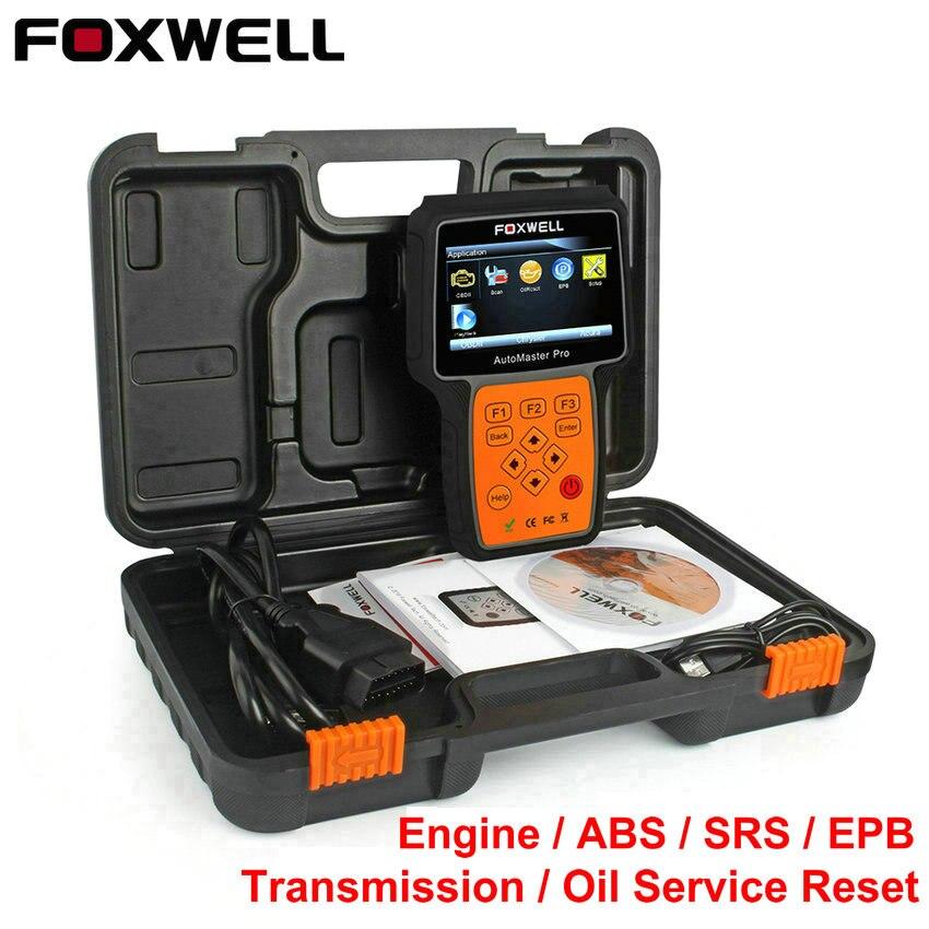 Prix pour D'origine Automobile Scanner Foxwell NT614 OBD2 Moteur, Transmission, ABS, Airbag SRS, service light Oil, EPB défauts Outil De Diagnostic