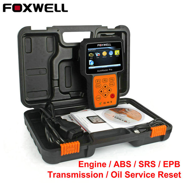 OBD2 Automotive Scanner Foxwell NT614 Engine Transmission ABS Airbag SRS Oil EPB Reset Diagnostic Tool OBD ii Diagnosis Scanner