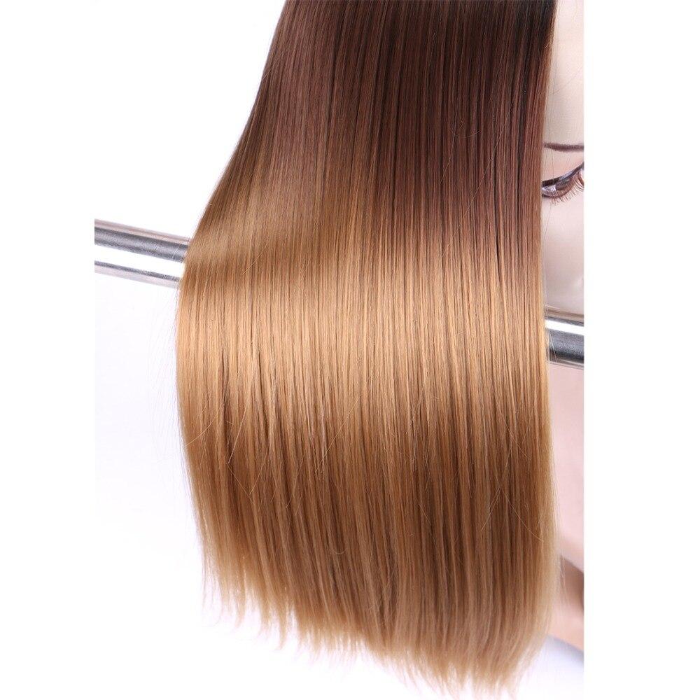 Reyna extensões de cabelo reto 16-26 polegada
