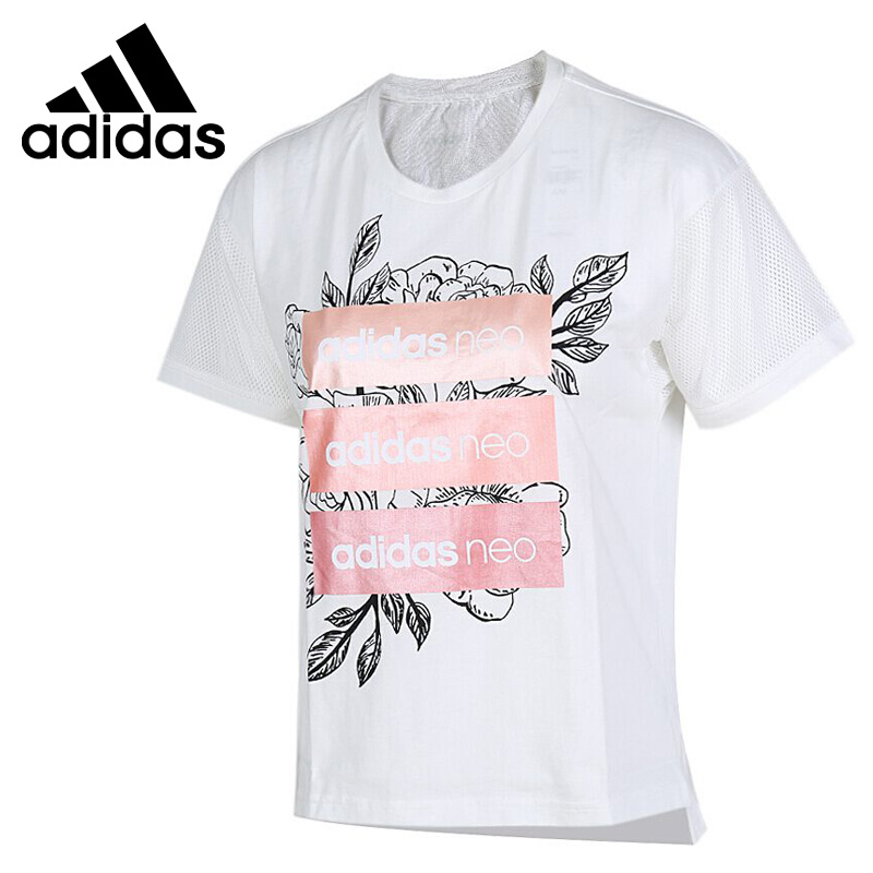 1f4cd605bd896 US $41.89 29% OFF|Original New Arrival Adidas Neo Label CS RO BOX TEE  Women's T shirts short sleeve Sportswear-in Skateboarding T-Shirts from  Sports & ...