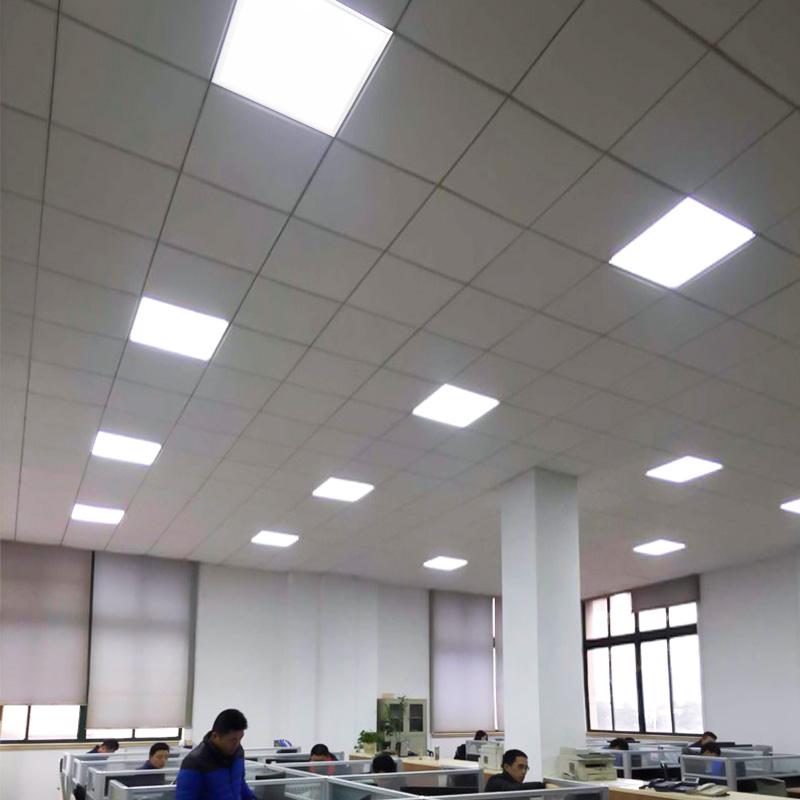 LED Panel Light led Flat Lamp Ceiling Lamp Bathroom Embedded Integrated Ceiling Toilet Light Ceiling Lamps Office Decoration