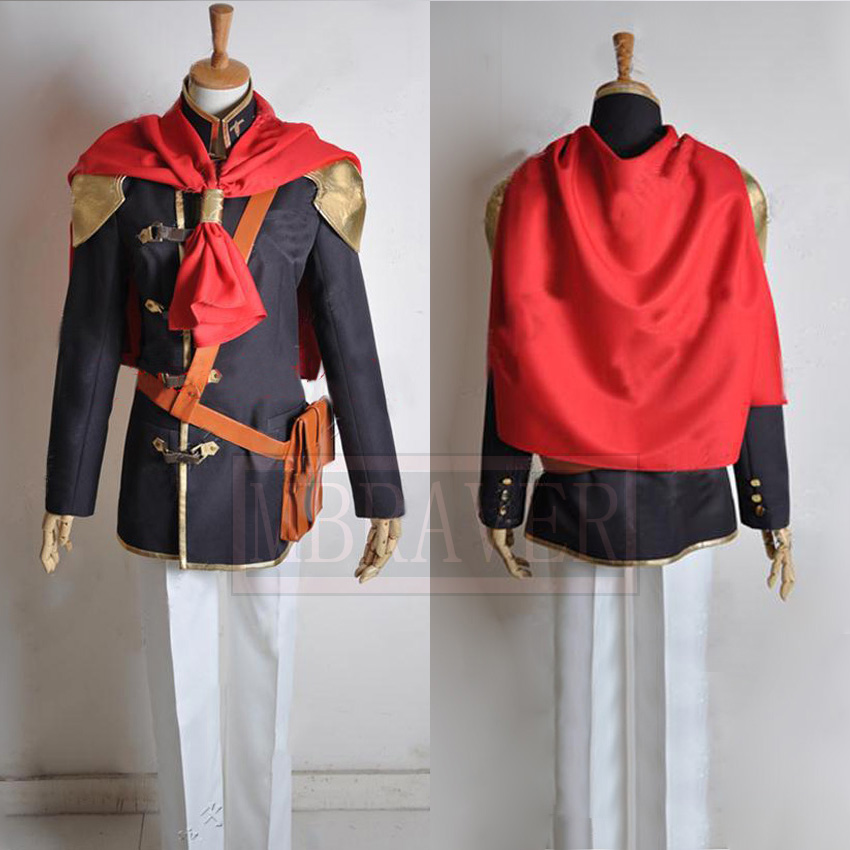 Final Fantasy Type-0 Suzaku Peristylium Class King cosplay Costumes Custom Made Any Size