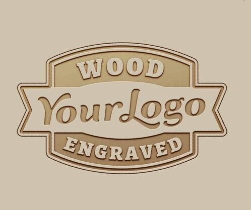 LOGO bois bambou en bois montres boîtes en bois logo gravé frais, logo personnalisé laser graver OEM/ODM