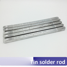 High-Purity Solder-Rod Tin Low-Melting-Point Super-Strength Sn Bar Antioxidant 63A 500g/Pcs