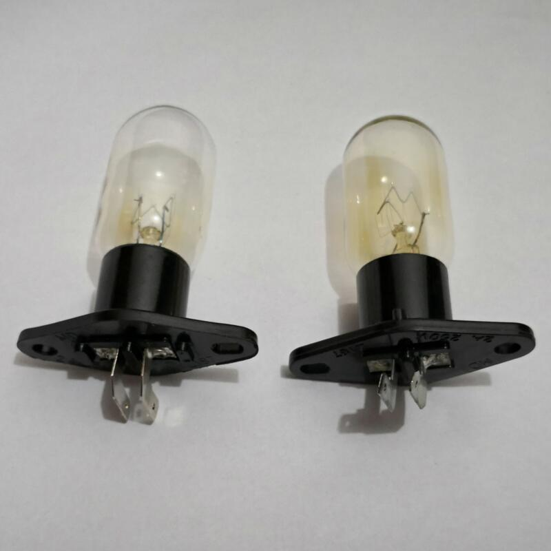 globe bulbs replacement for midea haier microwave oven lighting with socket and l pins 220v 20w microwave oven parts