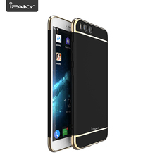 Electroplate Case For Xiaomi 6, IPAKY Shock Absorp3 In 1 PC Electroplate Luxury Frame Matte Cover Hybrid Phone Case For MI6