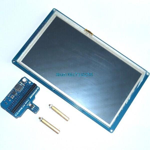 """7 بوصة 7.0 """"TFT LCD درع الواجب/Taijiuino بسبب ، مع SD والتحكم باللمس"""