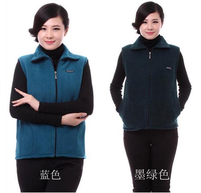 Los bajos precios de Ultra en stock! la moda otoño invierno cálido mujeres chaleco chaqueta de Gran tamaño L-4XL ventas de la fábrica Grande