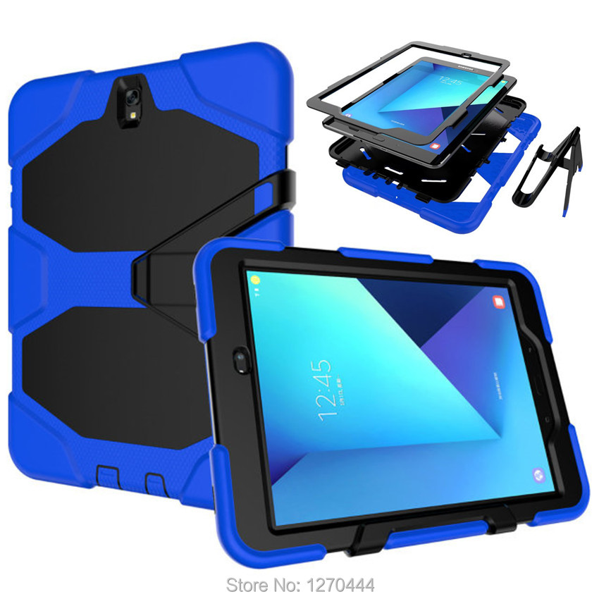 Cases For Apple iPad Air/ipad5, New Durable 3 Layers Silicone+PC Hybrid Rugged Stand Shockproof Water Repellent Cover for ipad5 ipad 3 купить киев бу