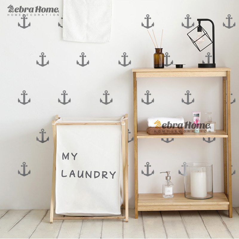 Little Anchor Wall Sticker Diy Baby Nursery Rooms Home Decor Art Removable Vinyl Mural Wallpaper For Kids Bedroom In Stickers From Garden On