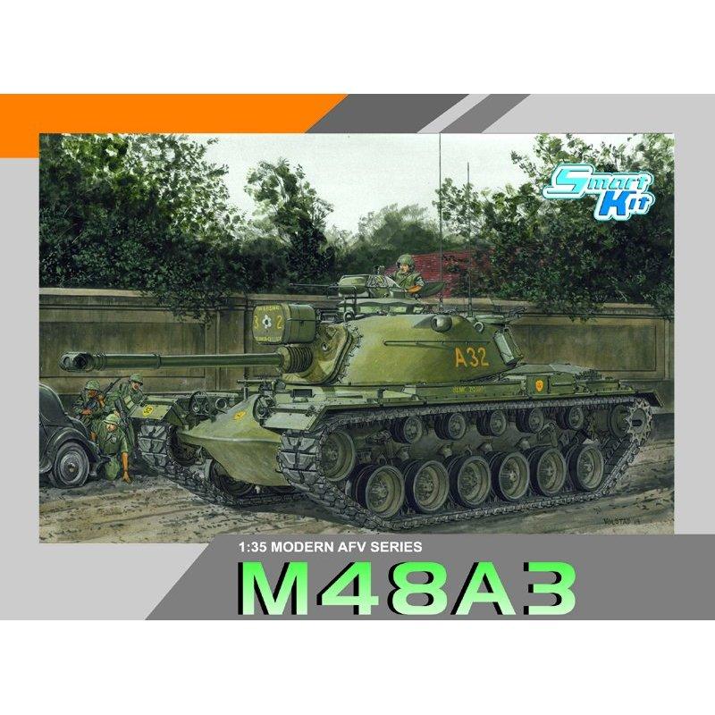 DRACHEN 3546 1/35 M48A3 Tank Skala modell Kit-in Modellbau-Kits aus Spielzeug und Hobbys bei  Gruppe 1