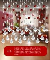 36 taśmy/lot, moda Kryształ Koralik Kurtyna Może Dostosować Dekoracji Drzwi Zasłony Okna Koraliki Kurtyny z Tracker Darmowa Wysyłka