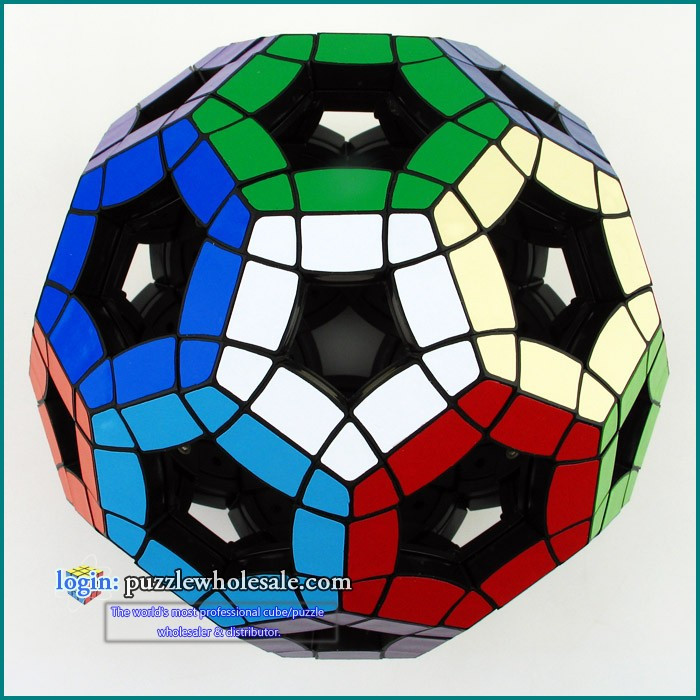 VeryPuzzle Tuttminx V4 Magic Cube Hollow Football Puzzle Cube mf8 teraminx magic cube puzzle black stickered learning