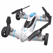 Remote control toys Newest Syma X9 2.4G Mini Drone RC helicopter Land Sky 2 in 1 dron with Speed Switch RC quadcopter