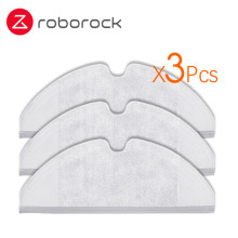 3Pcs Suitable for Xiaomi Roborock Robot S50 S51 Vacuum Cleaner Spare Parts Kits Mop Cloths Generation 2 Dry Wet Mopping Cleaning 4pcs original roborock parts mop cloths for xiaomi vacuum cleaner generation 2 dry wet mopping cleaning