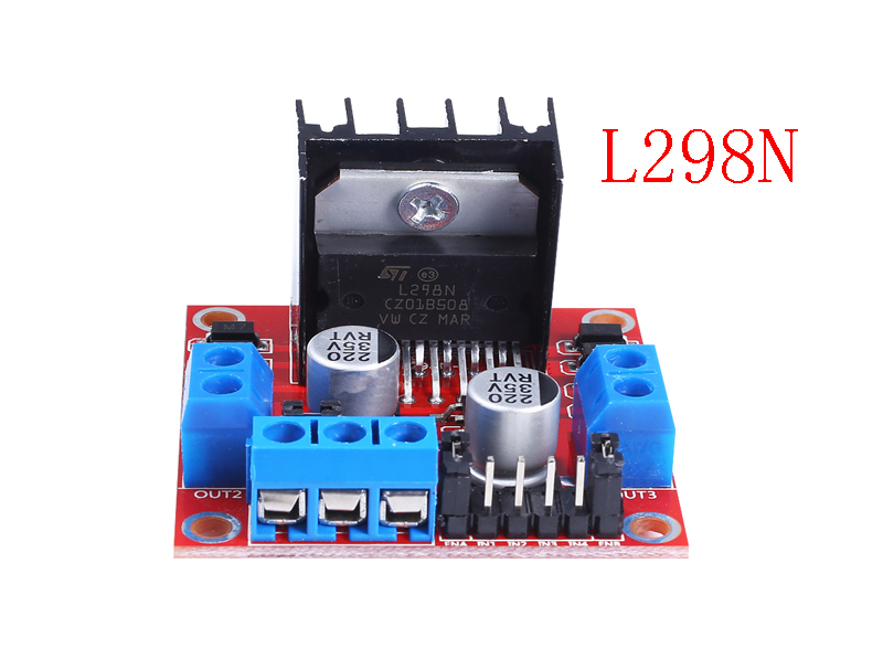 5pcs L298N driver board module L298 stepper motor smart car robot breadboard peltier High Power