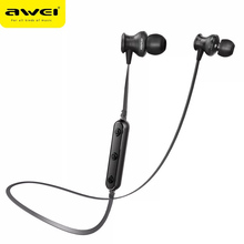 Awei B980BL Bluetooth Earphones Wireless Earphone Headset with Microphone Noise Cancelling For Phone