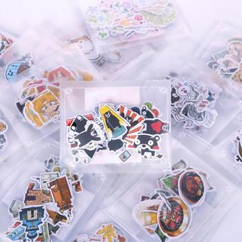 Cute Cartoon Korean Style Decorative Stickers Adhesive Scrapbooking DIY Decoration Diary - discount item  22% OFF Stationery Sticker