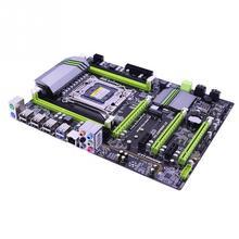 X79 материнская плата LGA 2011 ECC DDR3 SATA 3,0 регистровая и ecc-память USB 3,0 Настольный Inter ATX Turbo Boost 64G легкие компьютерные аксессуары