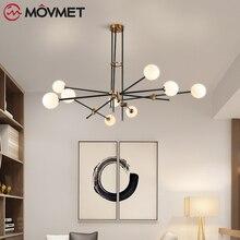 Modern Chandeliers Design for Living Room Bedroom Iron Indoor Lighting Fixture Design Creative Hanging Lamps Home Decoration creating home design for living