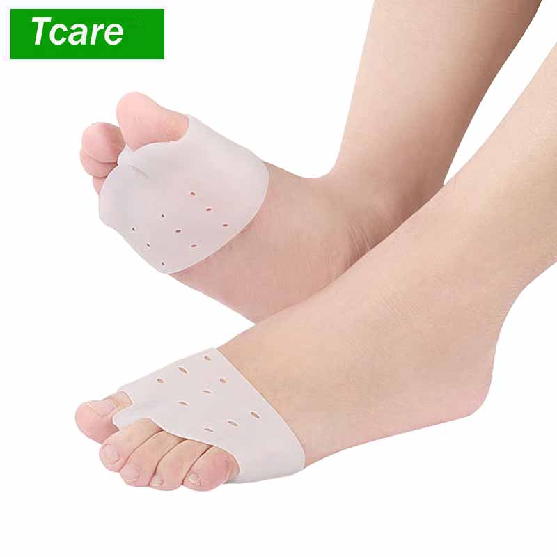 1Pair Bunion Corrector Gel Bunion Pads Splint Protector Sleeves kit Toe Pain Hallux Valgus Relief Big Toe Spacers for Women Men