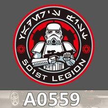 Bevle A0559 Star Wars Legion Wasserdichte Kühle DIY Aufkleber Laptop Gepäck Skateboard Kühlschrank Auto Graffiti Cartoon Aufkleber