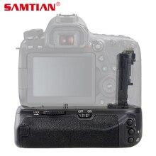 SAMTIAN Профессиональная Вертикальная Батарейная ручка для Canon EOS 6D Mark II 6D2 6DII работает с LP-E6N LP-E6 батареей