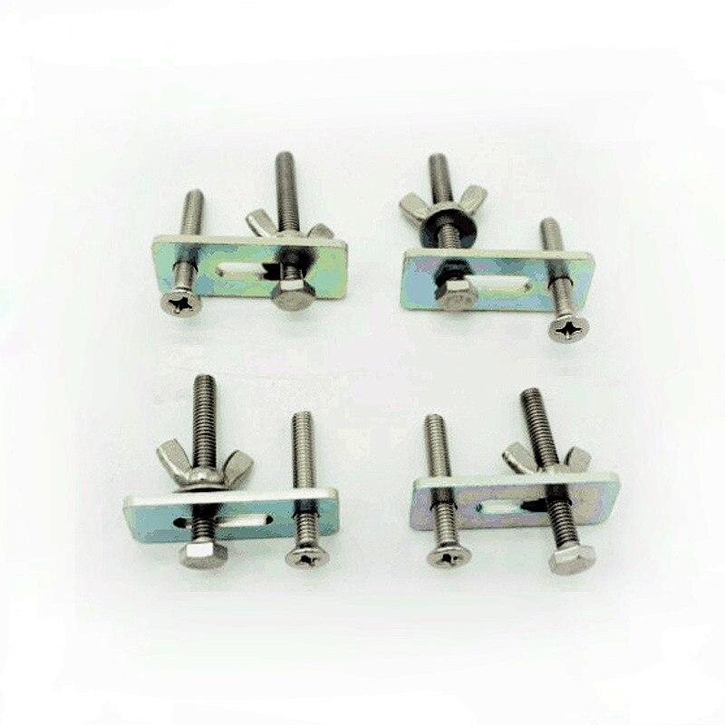 4pcs/lot Chuck Clamp Plate Engraving Machine Cnc Router Fixture milling tool Числовое программное управление