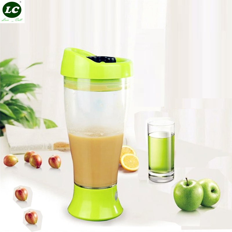 Shake Cup 400ml Small Fresh Leisure Cup Coffee Milk Powder Automatic Mixing Milk Bottle Protein Powder Shake Bottle image