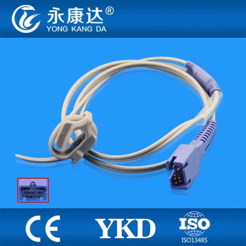 Free Shipping For 7Pin Masimo Mindray T8 Neonate Wrap SPO2 Probe Sensor,1M