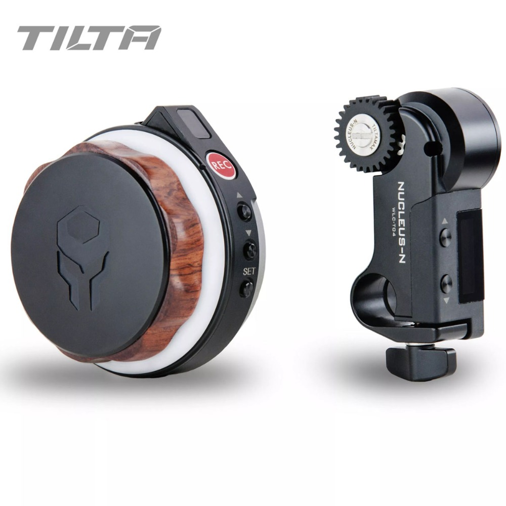 Tilta Nucleus-Nano Wireless Follow Focus Motor Hand Wheel Controller Nucleus N Lens Control System for gimbal Roin-S Crane 2 G2XTilta Nucleus-Nano Wireless Follow Focus Motor Hand Wheel Controller Nucleus N Lens Control System for gimbal Roin-S Crane 2 G2X