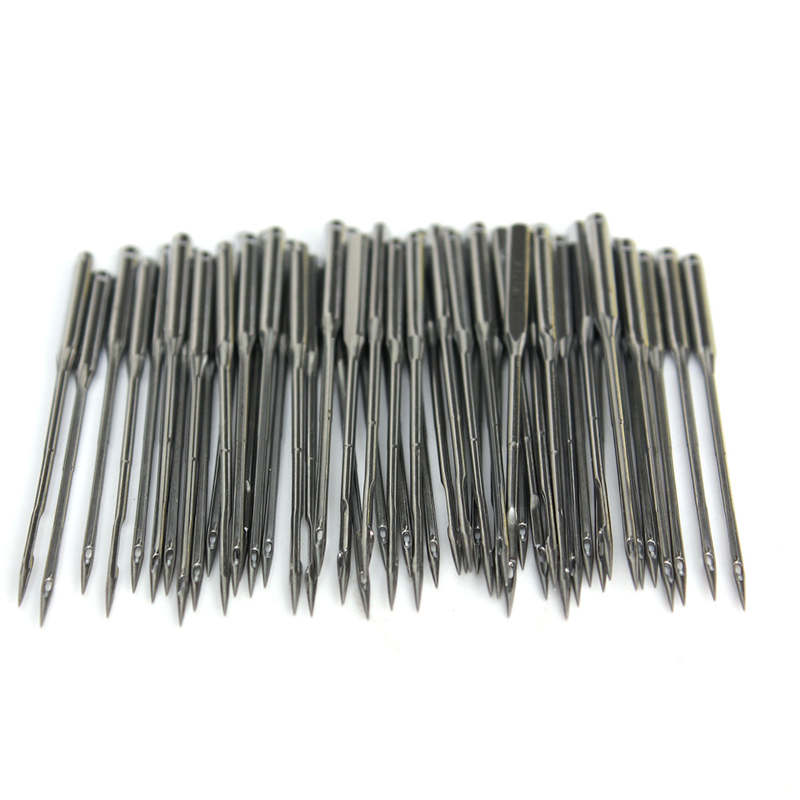 50pcs Household Sewing Machine Needles HA x1 For Singer For Brother Janome  Juki Also Fit Old Sewing Macine Tool Parts taiwan speed sewing machine sewing machine sewing machine pneumatic pipe jointing machine ventilation pipe linking tool