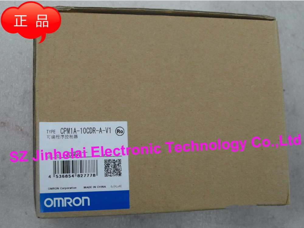New and original CPM1A-10CDR-A-V1 OMRON PLC controller new and original cp1h xa40 dr a omron plc controller module