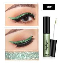 Brand Glitter EyeLiner Colorful Liquid Eyeliner Waterproof Eyekiner Easy To Wear Eye Liner Cosmetics Smooth Tool