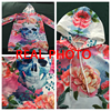 Women Long Sleeve Skull Hoodies Dress Flowers Bodycon Sweatshirts Pullover Streetwear Hoodie Autumn Casual Clothes Mini Dresses 2