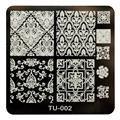2016 Hot Sale Scrape off polish quickly DIY Nail Art Image Stamp Stamping Plates Manicure Template  timbri Anne
