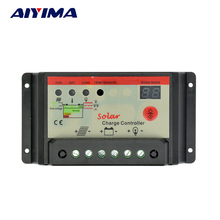 AIYIMA Flexible Solar Panel Cells Solar Battery Charger Controller 12V 24V 30A Controller Panneau Solaire Regulator Switching