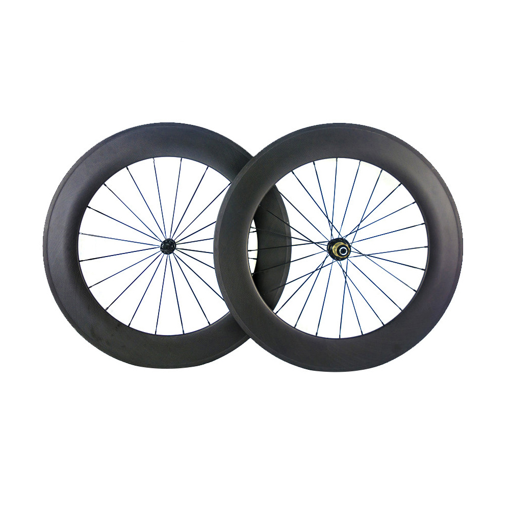 Smileteam 700C Ultra Light Carbon Wheels 88mm R36 Hub Carbon Clincher Tubular Wheelset Road Bike Bicycle Wheel With OEM Painting carbon wheels tubular clincher powerway r13 hub wheels 38mm 50mm 60mm 88mm road carbon bicycle wheels cheapest sale