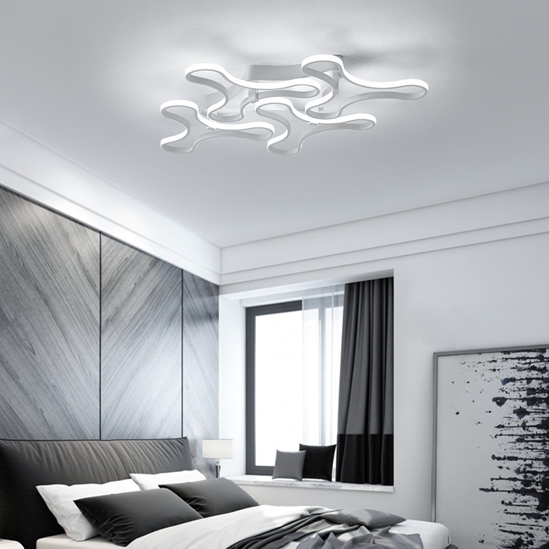 Современная алюминиевая Акрил светодиодный потолочный светильник дома Гостиная Спальня кабинет проход верхнего света Бизнес место освеще...