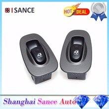 ISANCE 2 шт. двери электрический Мощность переключатель окна отделка кнопки для hyundai Accent 2000 2001 2002 2003 2004 2005(HY011