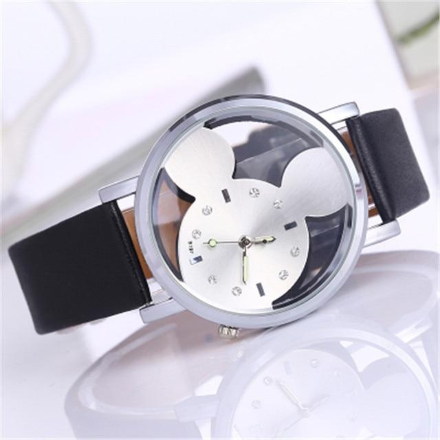 New Leather Fashion Brand Bracelet Watches KIDS boy girl Casual Quartz Watch Cry