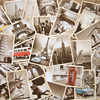 32 Pieces Set Free Shipping Vintage Style Famous Building Retro Old Travel Postcards For Worth